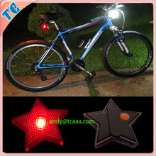 LED blinking bike light bag hanging light 2015 new