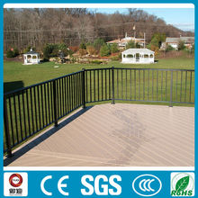 modern aluminum handrail for stairs