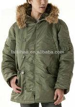 última chaqueta Parka Militar