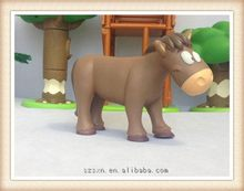 Cheap most popular cheap pvc animal figurine toy for kids