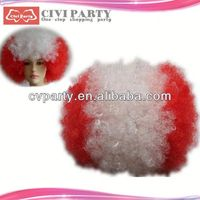 Fashion hot selling synthetic party wigs synthetic party wigs hair tint brush comb