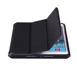 3 in 1 case flip leather stand function automatic dormancy transparent back case for ipad mini 1 2 3