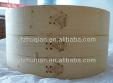 Reasonable Price Polished Hot-sell and Eco-friendly Round Bamboo Steamer