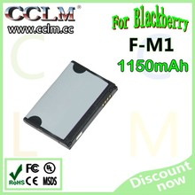 High capacity mobile phone battery fit for BlackBerry 9100/F-M1/FM1 battery