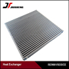customized made air cooled aluminum bar and plate intercooler core for truck