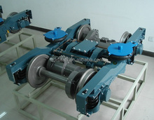 China type bogie frame ; boster with steel castings