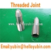 stainless steel threaded joint shaft