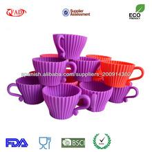 encantadores moldes de silicona de grado alimenticio nostick para decoración de pasteles