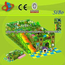 GM01 casas de plástico de los niños para el patio