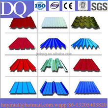 color stone coated metal wave roof tile/shingles roof