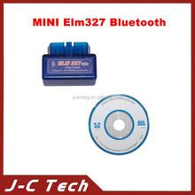 Latest Version V2.1 Super MINI ELM327 Bluetooth OBD/OBD2 Wireless ELM 327 12Kinds Works ON Android Torque/PC