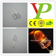 10mm amber led diode Factory low price