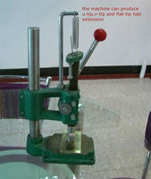 Keratin Hair Extension Machine, Pre Bonded Hair Making Machine with three moulds, Nail Tip Machine