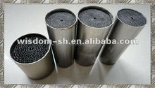 Catalytic converter of exhaust systems for motos