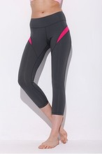 High quality great performance fitness and yoga wear ankle length thin spandex sexy leggings