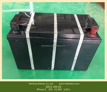 Rechargeable 12v LiFePO4 100AH battery for wind & solar power system