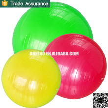 Wholesale eco friendly anti burst PVC exercise ball