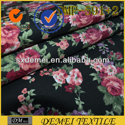 fabric textile lots prints poly cotton canvas manufacturer