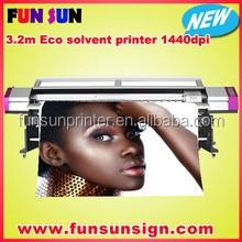Big discount ! Galaxy 1.6m /1.8m/2.1m/2.5m /3.2m dx7/dx5 print head eco solvent printer (1440dpi ,best quality )