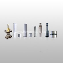 Steel guide pin and guide bushings