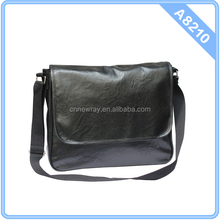 Factory sale directly mens PU leather messenger bag
