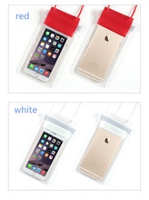 fashion mobile phone diving case waterproof bag/waterproof dry case/pvc fashion waterproof bags