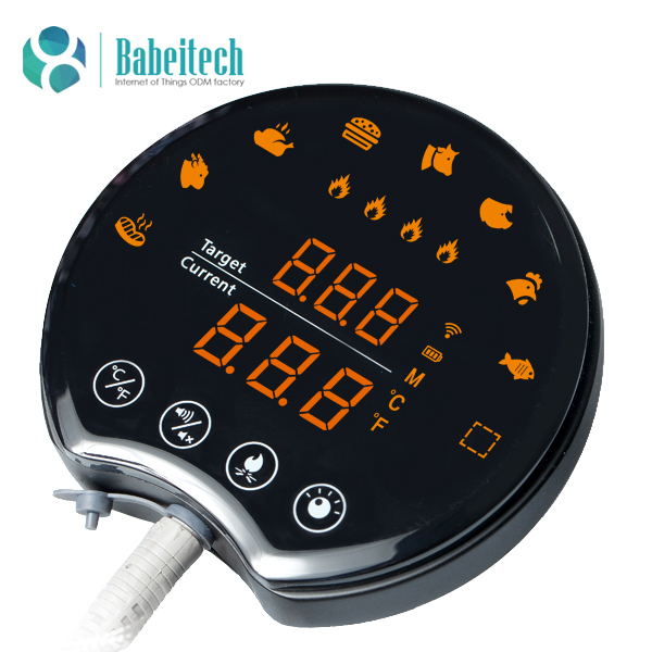 bluetooth touch screen bbq grill thermometer mieo hb542 buy bbq thermometer bluetooth. Black Bedroom Furniture Sets. Home Design Ideas