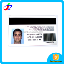 Factory Price Good Quality Customized Printed Plastic office employee id card making