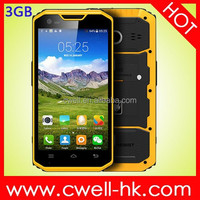 5.5 Inch Corning Gorilla Glass IPS touch screen 3GB RAM MFOX A7 ip68 waterproof rugged android phone with nfc and Outdoor Tools