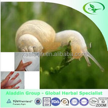 GMP factory price Snail Extract Powder Animal Extract for Skin/Protease Protein
