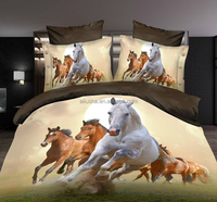 cheap horse comforter adult animal print bedding comforter set with matching curtains