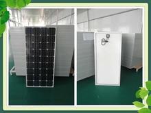 Best quality mono crystalline 100 watt solar panel 100w with CE,IEC,TUV certificate