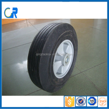 10 inch long lived solid rubber wheel