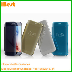 Ibest guangzhou cell phone accessory smart folio cases for phone6/6s/s6/s6edge/note5/s6 edge plus cell phone accessory