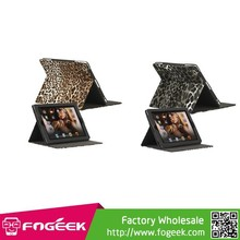 Slim Leopard Folio Leather Case Stand cover for iPad 2 3 4
