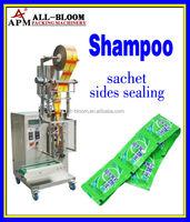 Automatic cream/shampoo/body lotion sides sealing sachet packaging machine