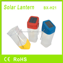 solar rechargeable portable camping lantern