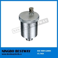 """1/2""""-1"""" Nickel Plated Brass Air Vent"""