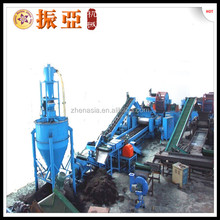 Automatic Rubber Tires Recycling Plant