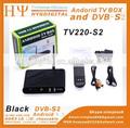 Android tv box dvb-s2 1g/4g 2.4g con mando a distancia tv android de la caja