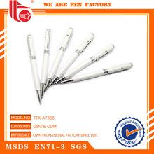 Imported novelties metal ballpoint pen promotional ball pen metal pen