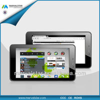 MTK6577 Dual core 7 inch tablet pc support 3G/2G with WIFI/Bluetooth/GPS/HDMI Phonecall function laptop wholesales(V105-4)