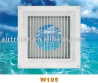 ABS Plastic Ceiling Air Diffuser, square ceiling air diffuser