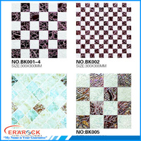 300x300mm polished mosaic floor and wall tiles