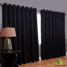 100% Polyester Fire Retardant Ripple Style Curtains