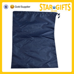 Cheap promotion product cheap custom nylon drawstring laundry bag
