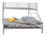 3 person bunk bed triple metal bunk bed