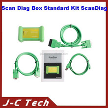 DHL Free Shipping 2015 New Arriver Powerful Scan Diag Box Standard Kit Scandiag with Multi-language