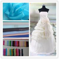 2015 hot sale fashion bride beautiful wedding dress material 2080 organza
