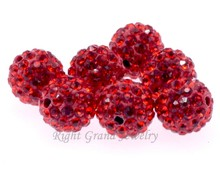 6MM 8MM 10MM Gemstone Beads To Make Bracelets Shamballa Bracelet